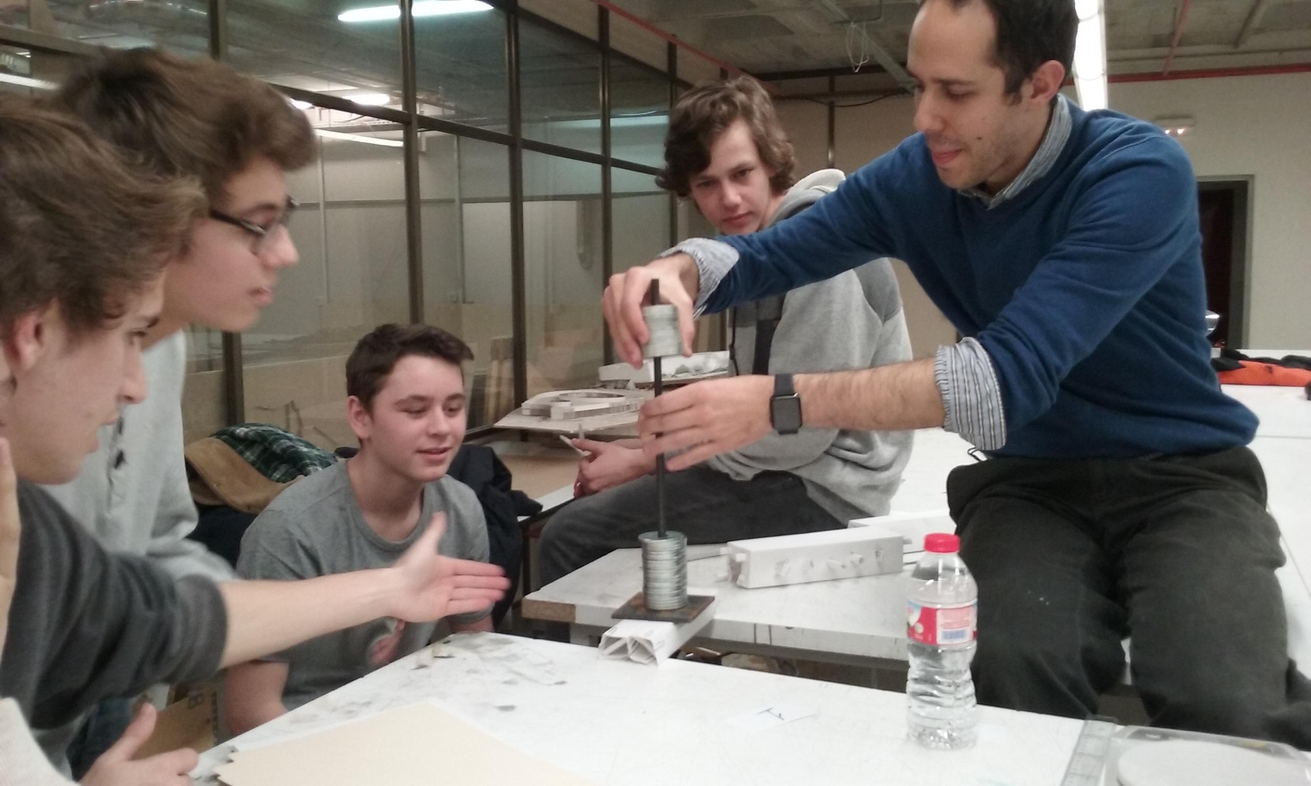 Pr cticas en la escuela de arquitectura fert batxillerat for Practicas estudio arquitectura